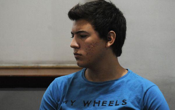 el conductor. Federico Gómez está acusado de doble homicidio culposo.