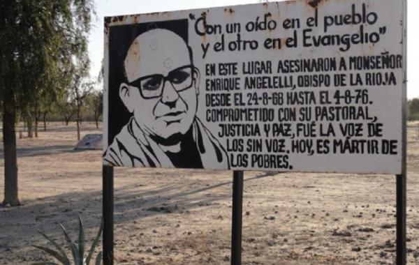 Declaran lugar histórico al sitio donde fue asesinado el obispo Angelelli