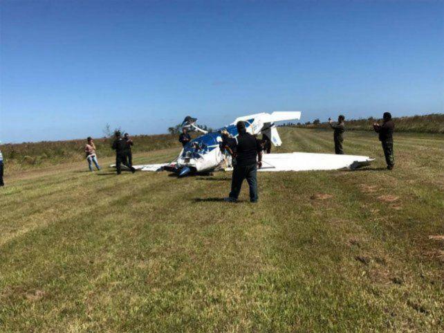 Así encontraron al avioneta en Corrientes. Había sido robada en Victoria