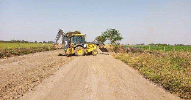 La Nación realizará un aporte financiero a Santa Fe para el plan Caminos de la Ruralidad.