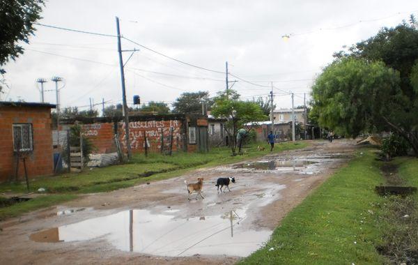 Vecinos de la zona de Balcarce al 4500 de barrio La Guardia denuncian condiciones insalubre de vida.