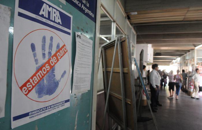 Los trabajadores de la salud provincial anunciaron un paro de 24 horas para mañana