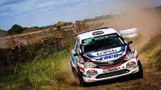 Victorio Ballay sigue firme en la divisional Junior en el Argentino de Rally.