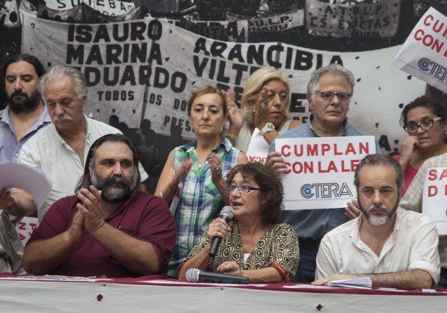Los dirigentes resolvieron una jornada de protesta para la semana próxima.
