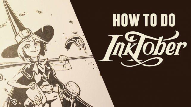 Llegó otro InkOctober, mes en que dibujantes e ilustradores muestran al mundo sus habilidades