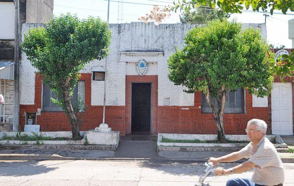 Subcomisaria 13ª. La seccional de General Lagos donde se denunció el hecho.