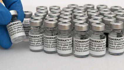 La vacuna Comirnaty, del laboratorio Pfizer.