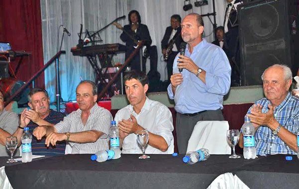 El ex intendente de Rafaela sigue de recorrida por la provincia.
