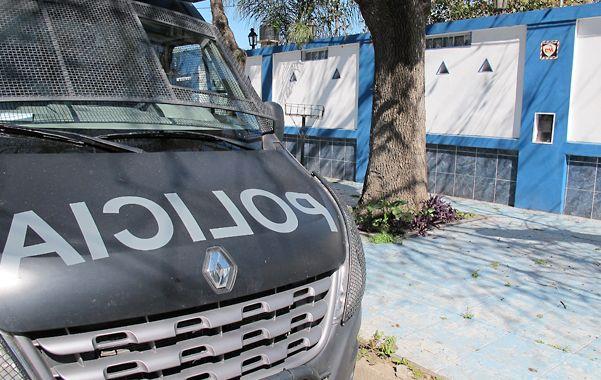 Porno spa. Uno de los allanamientos realizados el viernes pasado tuvo como escenario una lujosa casona ubicada en Funes.