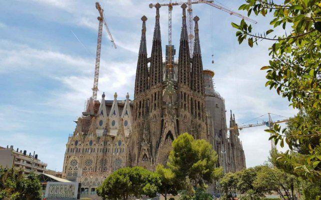 Gran templo. La obra de Gaudí comenzó hace 137 años.