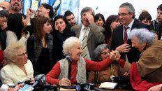 Estela de Carlotto, presidenta de Abuelas, brindará mañana detalles del nieto 121. (Foto de archivo)