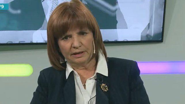 Bullrich: El 50 por ciento de los argentinos cree en nuestras ideas