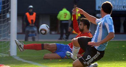 De la mano de su tridente de ataque, Argentina derrotó por 4 a 1 a España