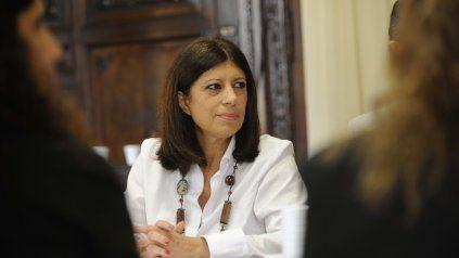 Clara García asumió la presidencia del bloque del Frente Progresista en Diputados tras la muerte de Miguel Lifschitz.