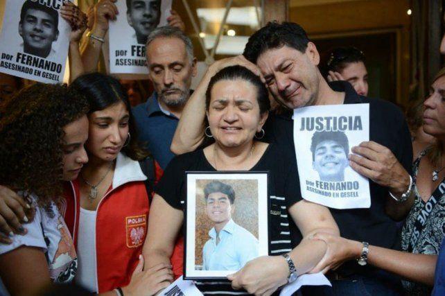 La madre de Fernando no quiere que el crimen quede impune