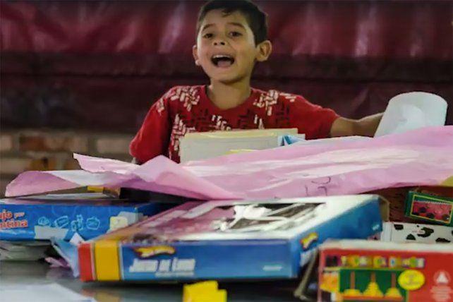 Colecta nacional. Se juntarán juguetes en distintos puntos del país para chicos y chicas.