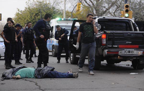 Mayo de 2013. El ataque a tiros en Francia y Acevedo donde murió un hermano de Milton y su madre quedó parapléjica.
