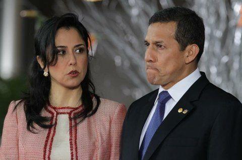 en problemas. Humala y su esposa Nadine Heredia fueron imputados.