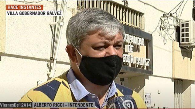 """Alberto Ricci: """"La política no puede estar por encima del sentido común""""."""