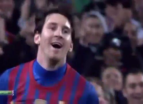 Cuatro de Messi en la goleada de Barcelona sobre Valencia