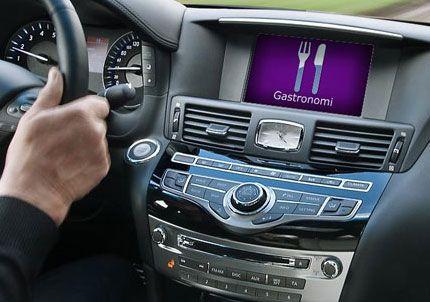 Un auto de lujo que detecta el hambre del conductor