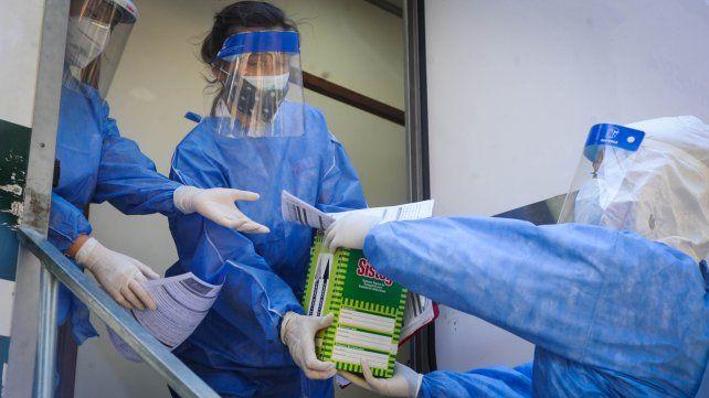 oOs casos de coronavirus en Rosario desde el inicio de la pandemia ascienden a xx.xxx.