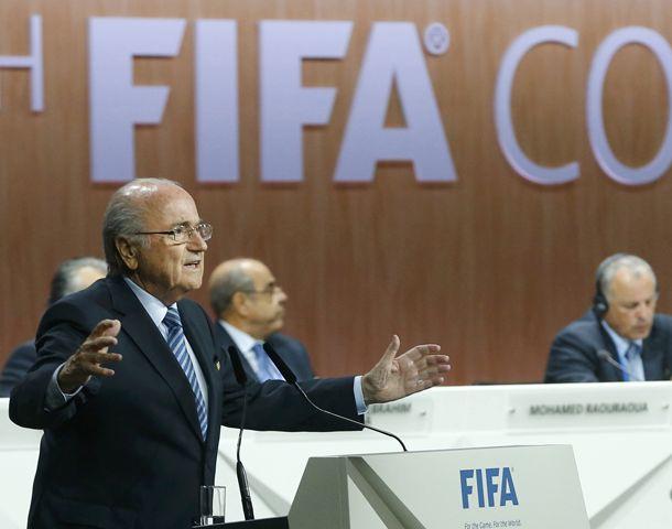 Blatter quiere seguir al frente de la Fifa.