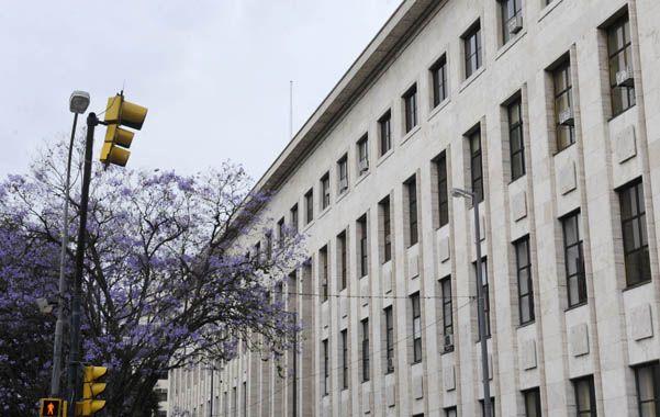 La denuncia terminó con la carrera de un empleado de Tribunales. (Foto:S. Salinas)