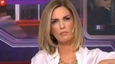 Viviana Canosa despidió a Diego, pero también criticó al gobierno nacional.
