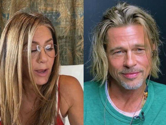 Jennifer Aniston y Brad Pitt volvieron a actuar juntos en un evento a beneficio para la fundación de Sean Penn.