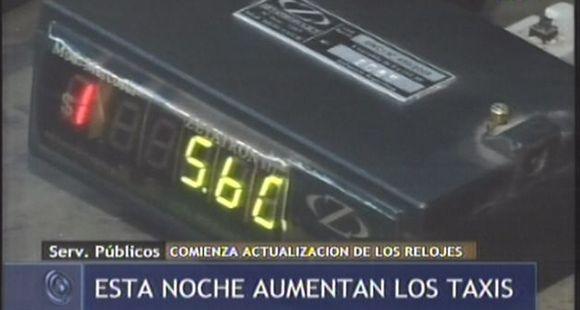 Esta noche empieza a regir la nueva tarifa de taxis en Rosario