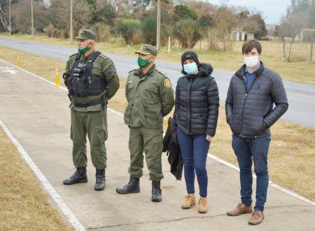 Control Urbano y Convivencia municipal, con el apoyo de la división Los Pumas, viene realizando controles en los últimos días.