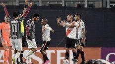 Jonatan Maidana fue expulsado en el encuentro que River perdió 3-1 ante el conjunto brasileño el pasado 25 de mayo.