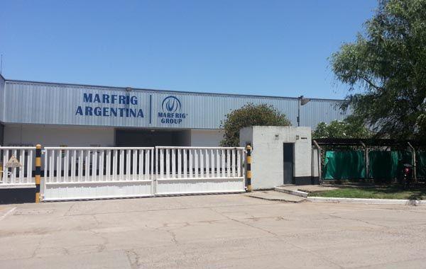 El frigórifico Marfrig estaba cerrado desde febrero pasado.