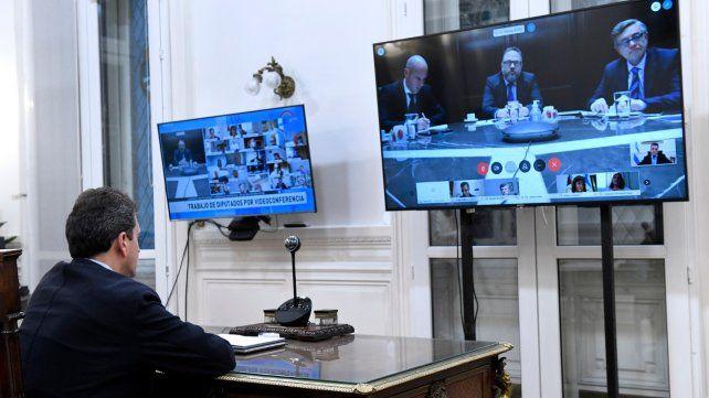 El Parlamento buscará avanzar en las sesiones virtuales