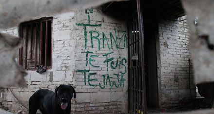 Arrasan con dos locales señalados por vender droga en barrio Ludueña