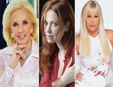 Andrea del Boca reavivó sus diferencias con Mirtha Legrand y le pegó a Susana Giménez