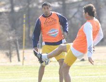 Central: Ribonetto entrenó con el resto del plantel y estará contra San Lorenzo