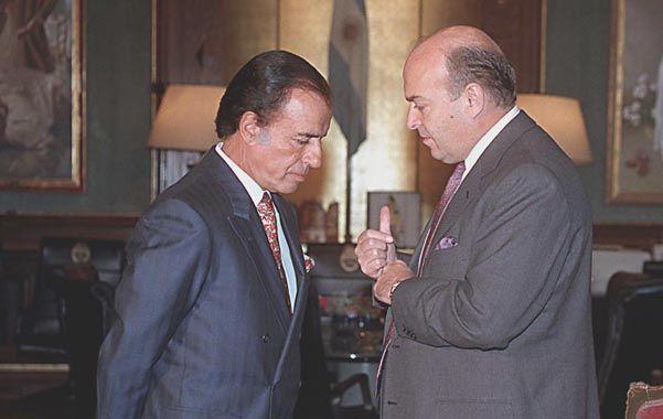 Menem y Cavallo constituyeron una alianza exitosa durante las dos gestiones del riojano.