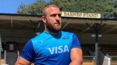 El Puma rafaelino Mayco Vivas es un referente de la Unión Santafesina en el programa Rugby 2030 fomentado por la UAR.
