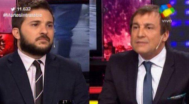 Brancatelli y Vilouta se trenzaron en intratables por la reaparición de Randazzo