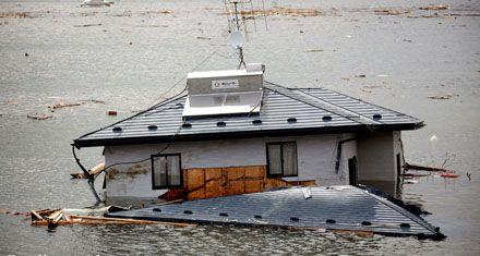 Un millón de toneladas de basura del tsunami japonés flota hacia EEUU
