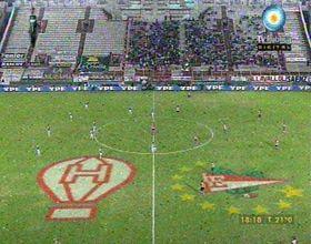 Clausura 2011: el Pincha le ganaba 2-0 al Globo cuando se suspendió por incidentes