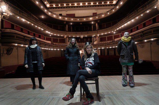 La flamante directora Florencia Balestra