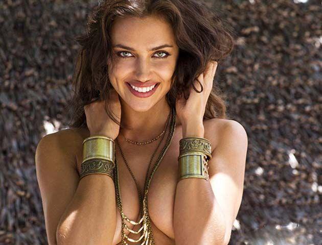 La novia de Cristiano Ronaldo hizo topless para Sports Illustrated