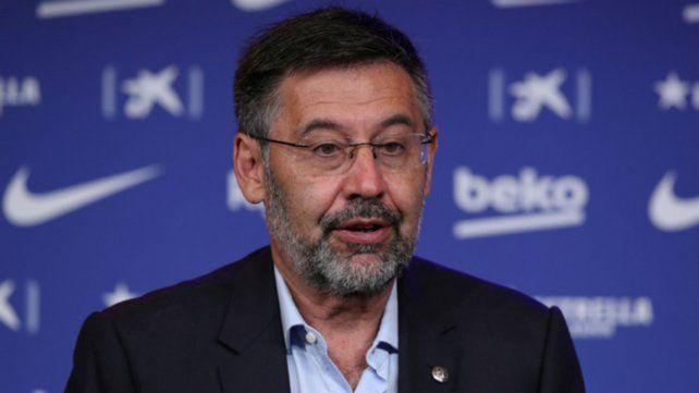 José María Bartomeu renunció a la presidencia de Barcelona