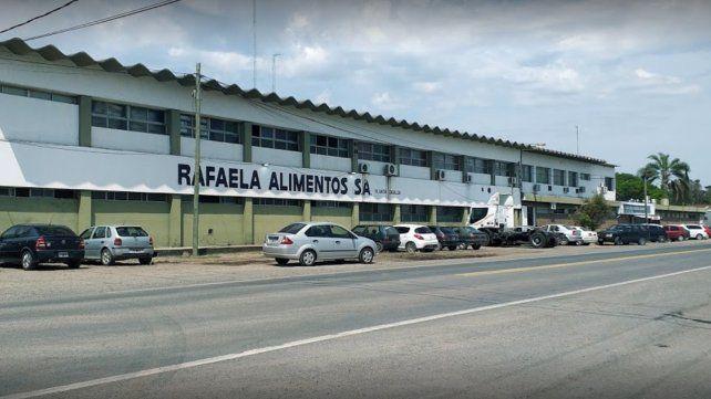 La planta de Rafaela Alimentos de Casilda.