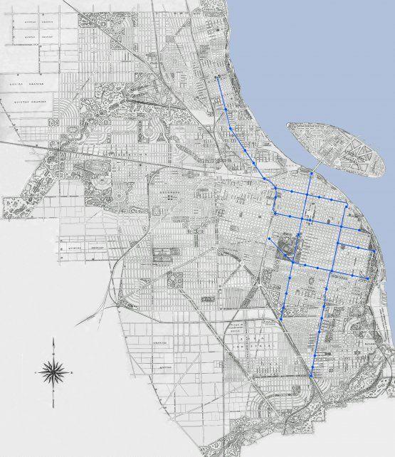 El trazado subterráneo fue pensado para descomprimir el área central y conectar toda la ciudad