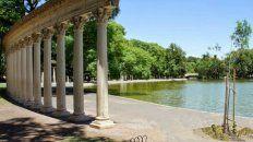 El parque Independencia, una excelente opción para pasear al aire libre y disfrutar de un fin de semana a pleno sol.
