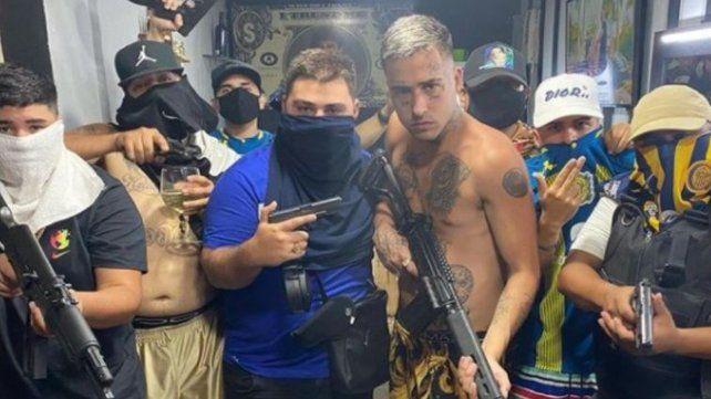Esta fue la foto por la que Zaramay cayó preso junto a un pariente de Guille Cantero.